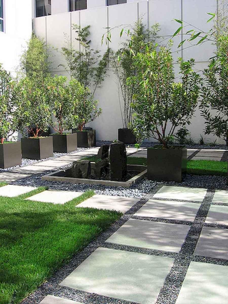 30 Simple Modern Rock Garden Design Ideas Front Yard 13 Room