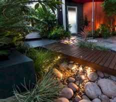30 simple & modern rock garden design ideas front yard (25)