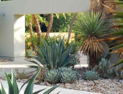 30 simple & modern rock garden design ideas front yard (7)