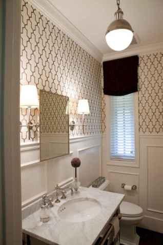 35 most efficient small powder room design ideas (34)