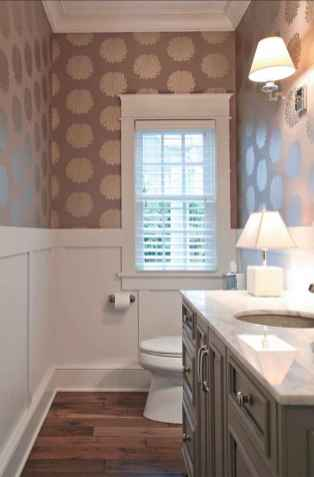 35 most efficient small powder room design ideas (35)