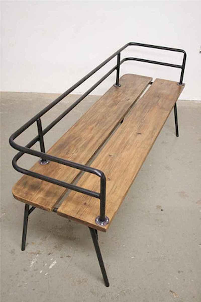 40 cheap diy outdoor bench design ideas for backyard & frontyard (2)
