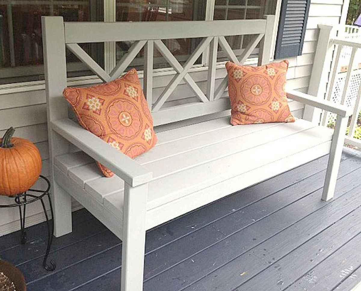 40 cheap diy outdoor bench design ideas for backyard & frontyard (21)