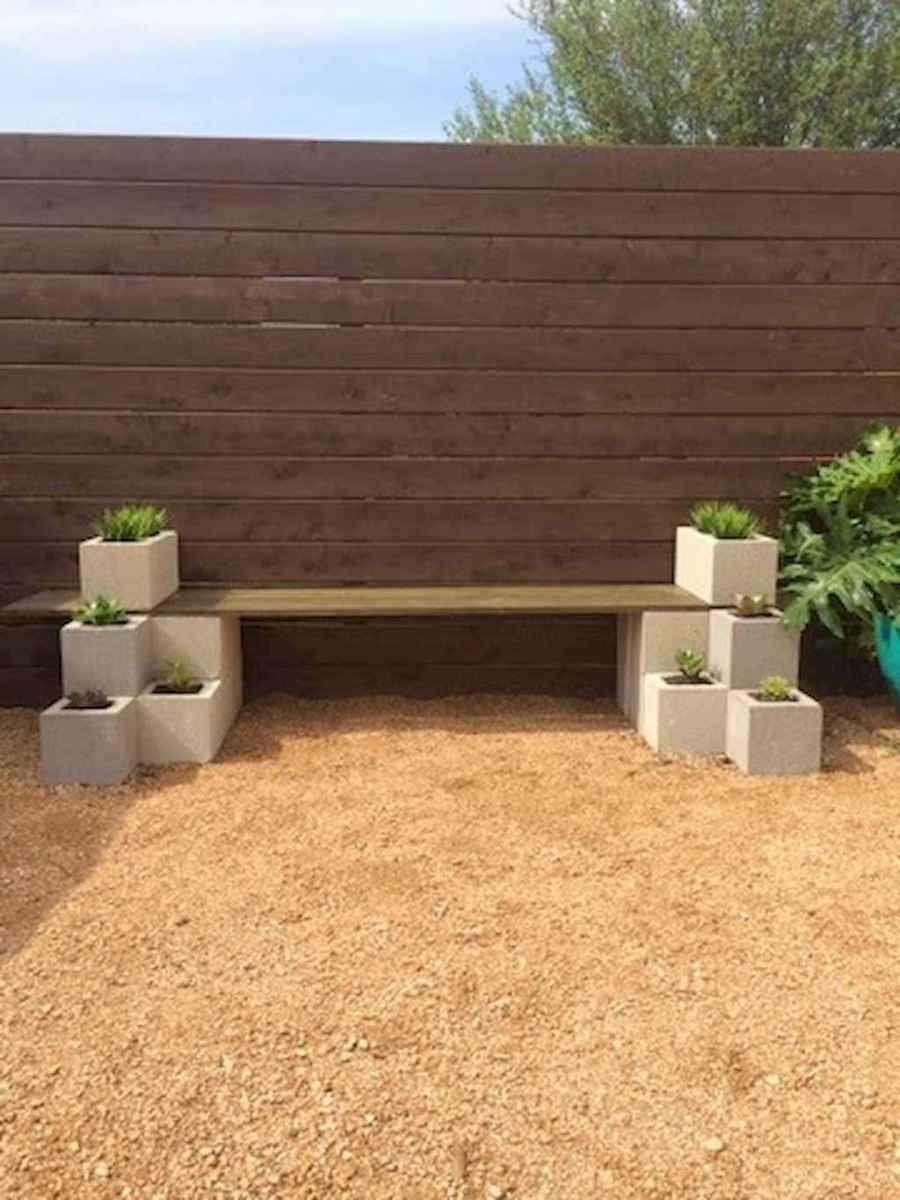 40 cheap diy outdoor bench design ideas for backyard & frontyard (40)