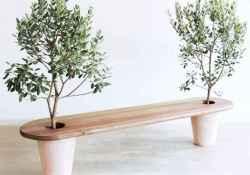 40 cheap diy outdoor bench design ideas for backyard & frontyard (6)