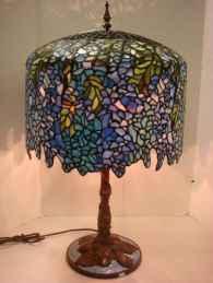 40 vintage victorian lamp shades ideas for decorating bedroom diy (9)