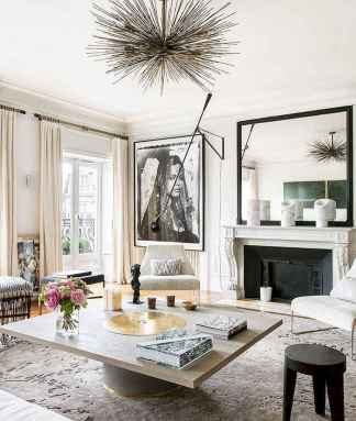 44 modern bohemian living room ideas for small apartment (44)