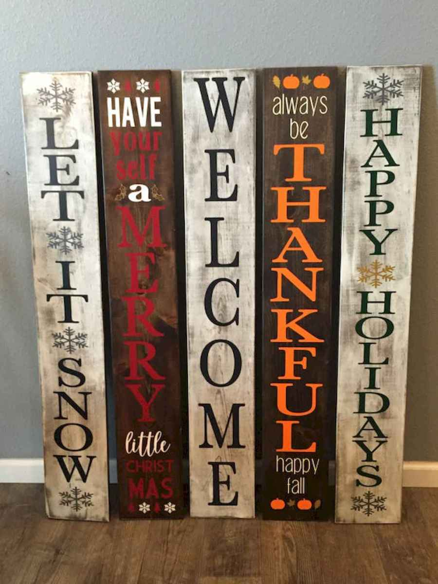 48 rustic wood sign ideas with motivation quotes (10)