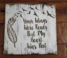48 rustic wood sign ideas with motivation quotes (8)