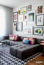 50 beautiful gallery wall ideas to show your photos (17)