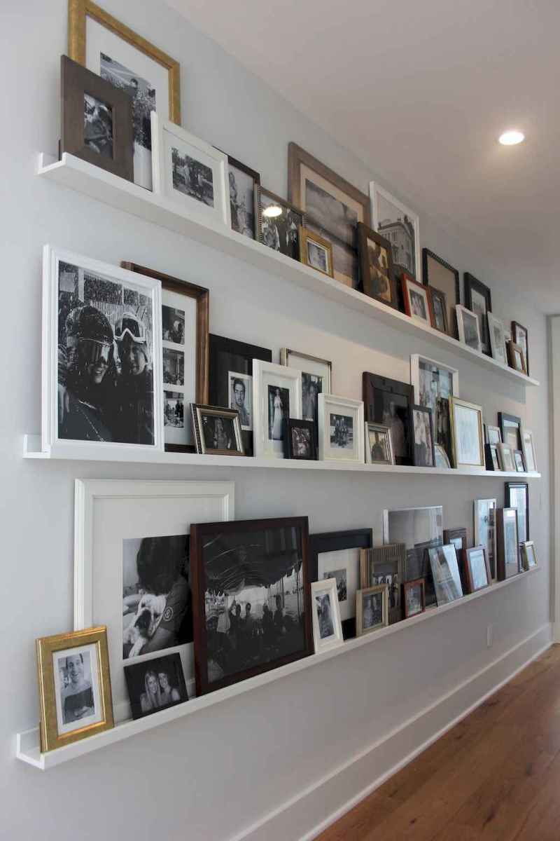 50 beautiful gallery wall ideas to show your photos (2)