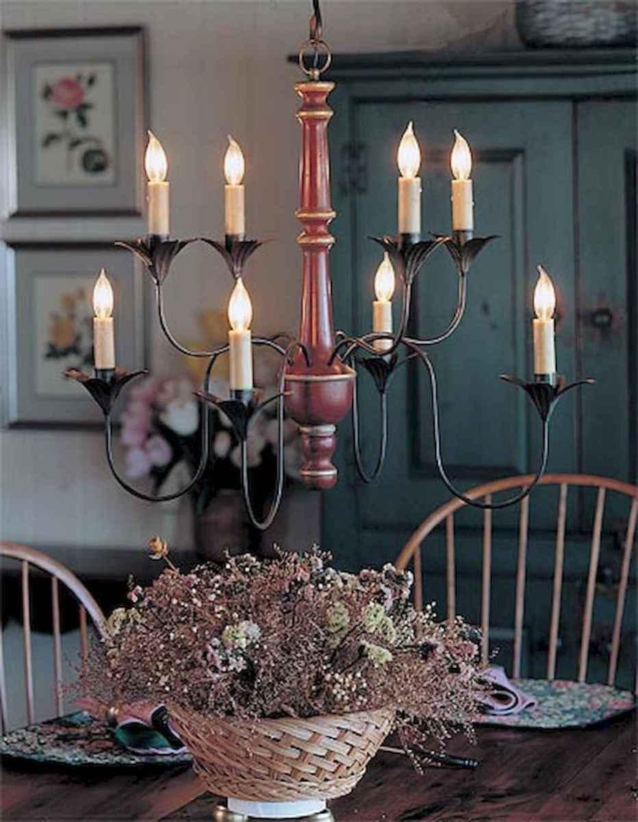 50 vintage dining room lighting decor ideas (5)