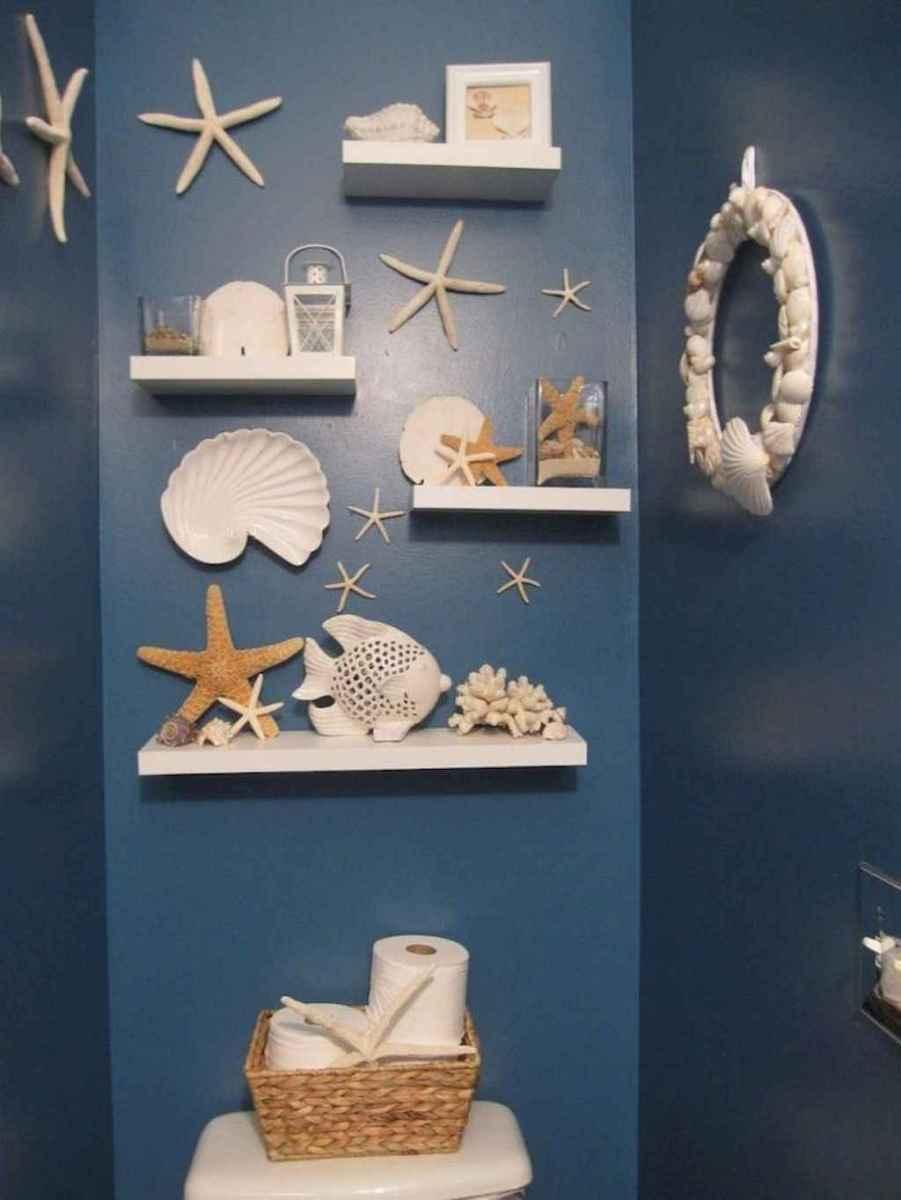 55 gorgeous beach themed bathroom design & decor ideas (32)