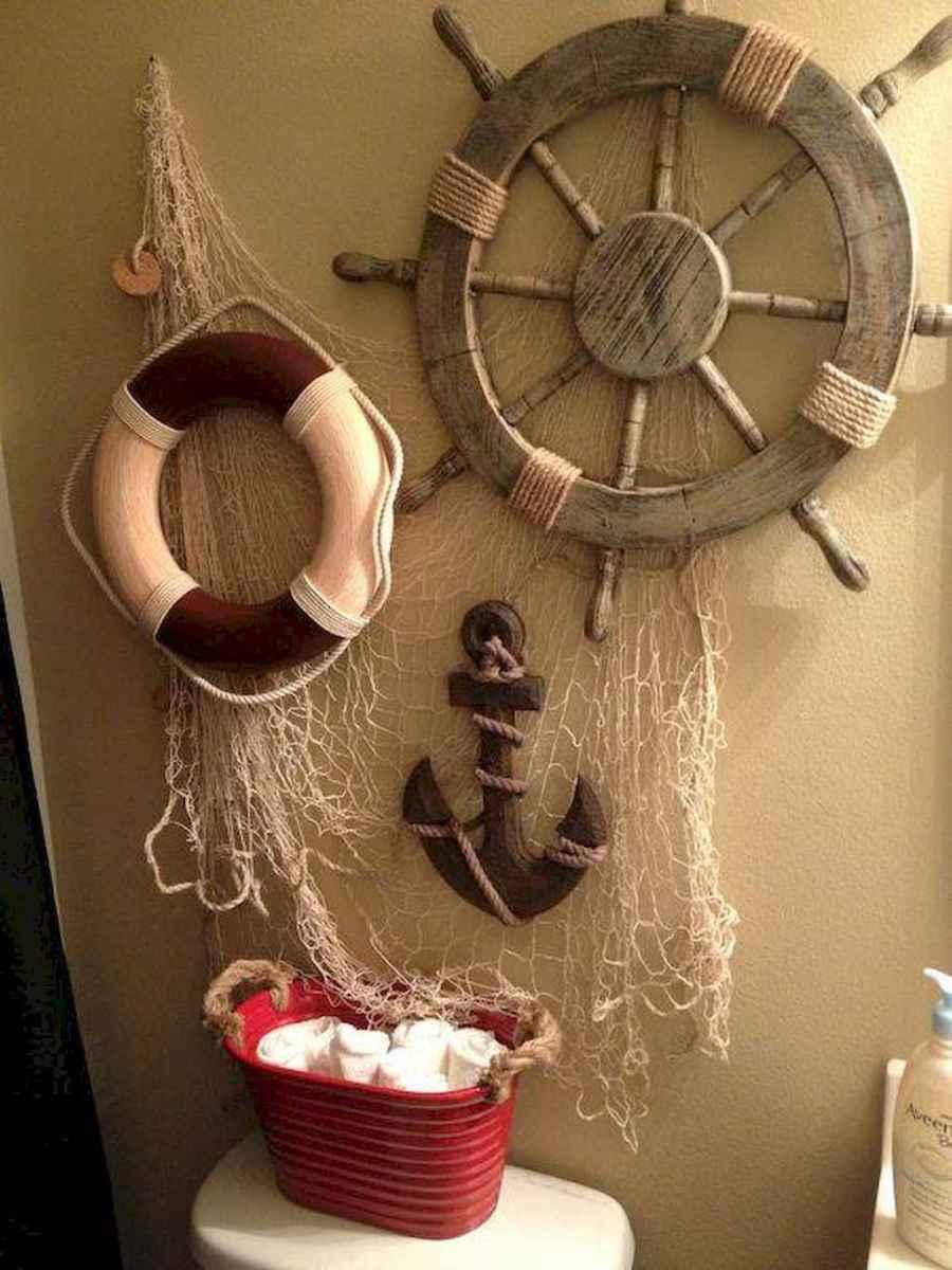 55 gorgeous beach themed bathroom design & decor ideas (42)