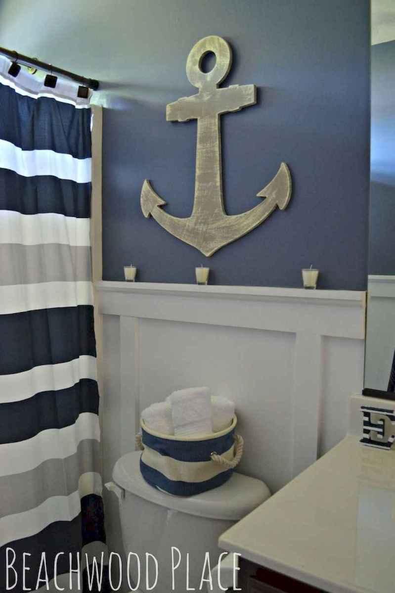 55 gorgeous beach themed bathroom design & decor ideas (51)