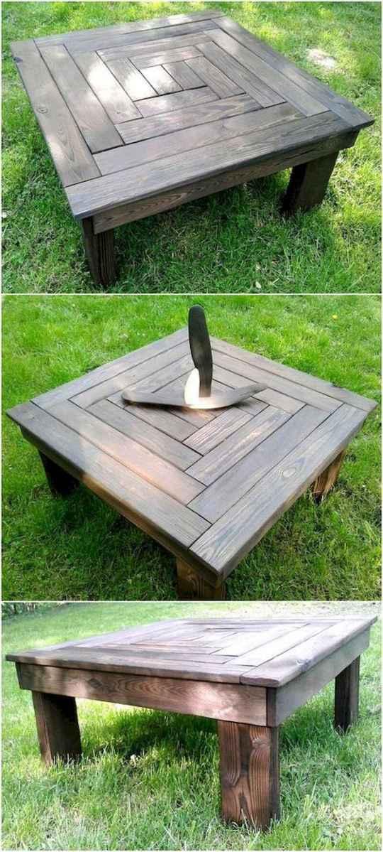 55 rustic outdoor patio table design ideas diy on a budget (11)
