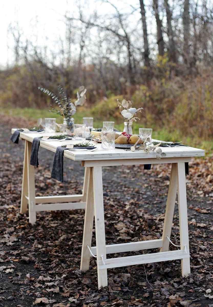 55 rustic outdoor patio table design ideas diy on a budget (12)
