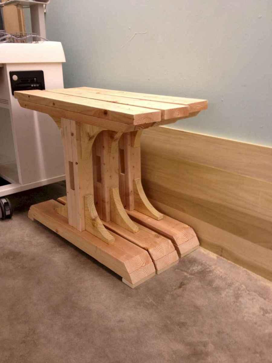 55 rustic outdoor patio table design ideas diy on a budget (15)