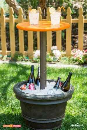 55 rustic outdoor patio table design ideas diy on a budget (21)