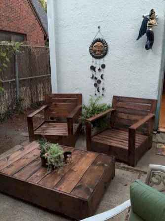55 rustic outdoor patio table design ideas diy on a budget (22)