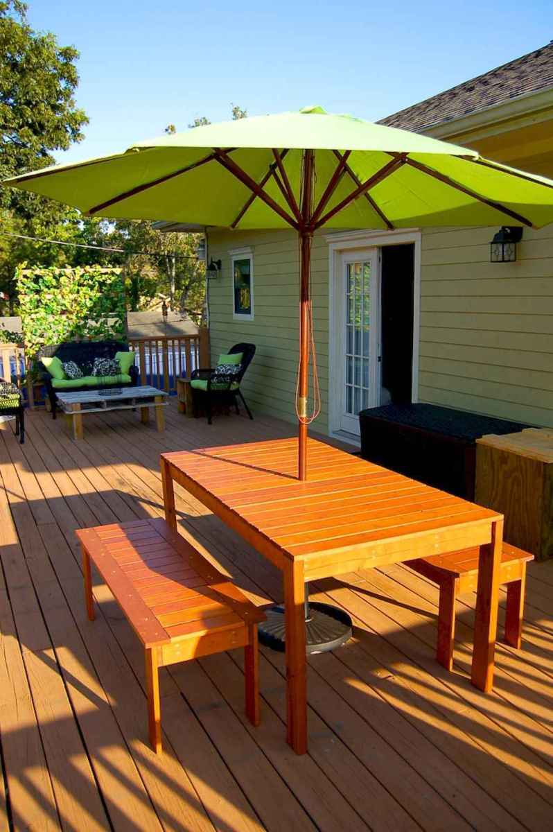 55 rustic outdoor patio table design ideas diy on a budget (23)