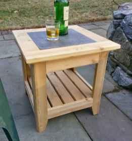 55 rustic outdoor patio table design ideas diy on a budget (26)