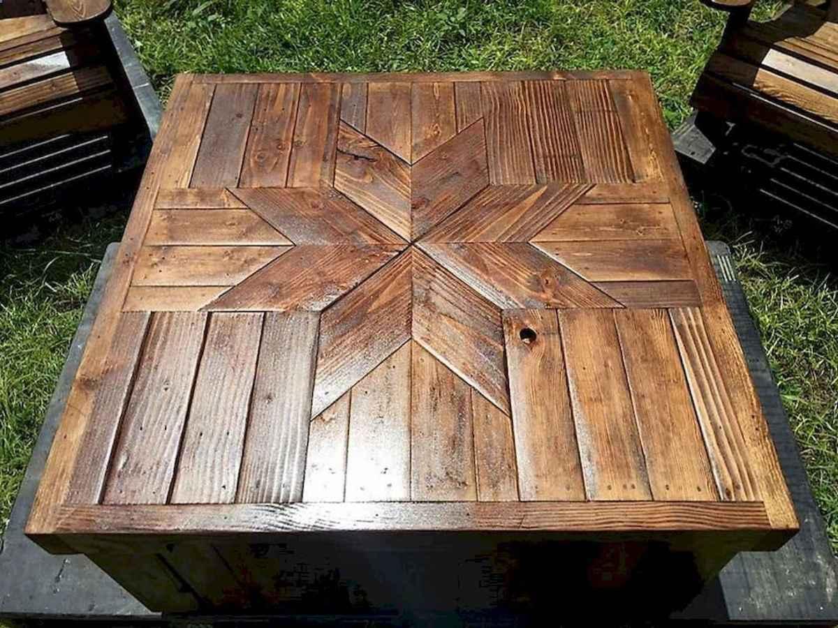 55 rustic outdoor patio table design ideas diy on a budget (4)