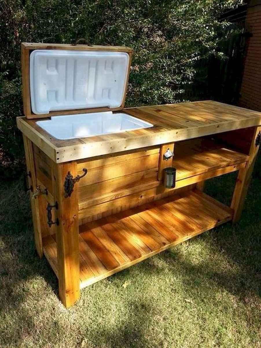 55 rustic outdoor patio table design ideas diy on a budget (42)