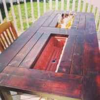 55 rustic outdoor patio table design ideas diy on a budget (54)