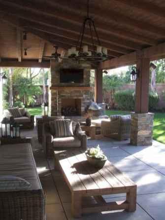 55 rustic outdoor patio table design ideas diy on a budget (9)
