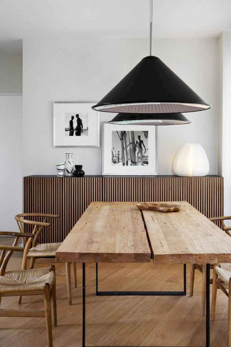 55 simple diy wooden dining table ideas that will inspire you (1)