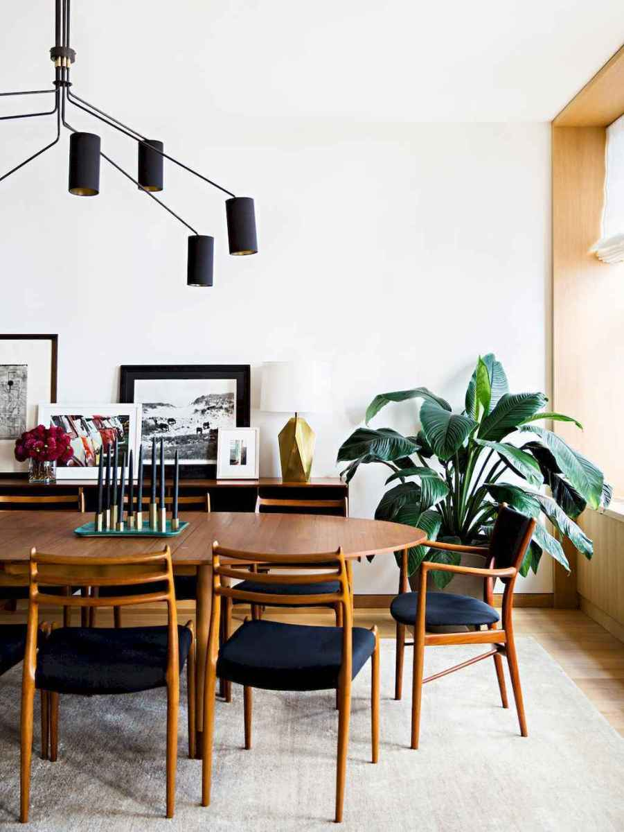 55 simple diy wooden dining table ideas that will inspire you (11)