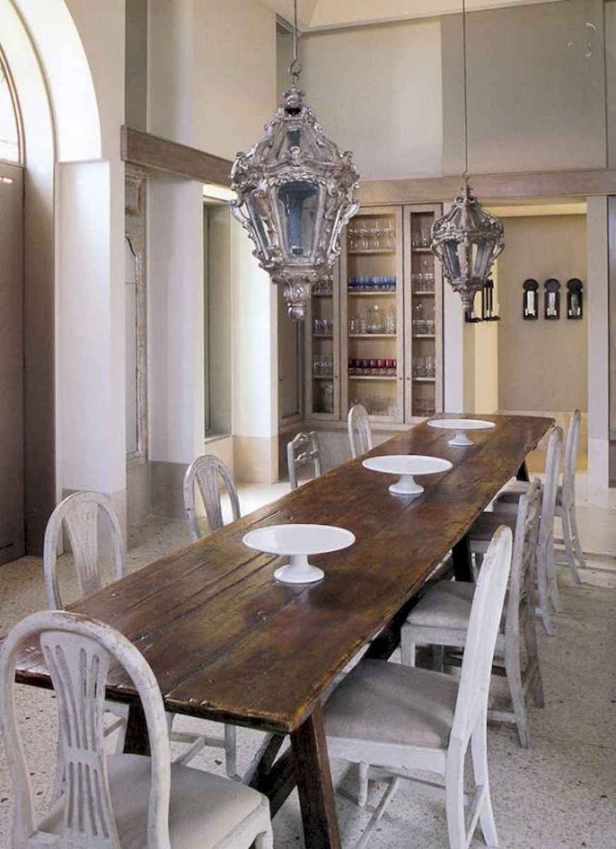 55 simple diy wooden dining table ideas that will inspire you (21)