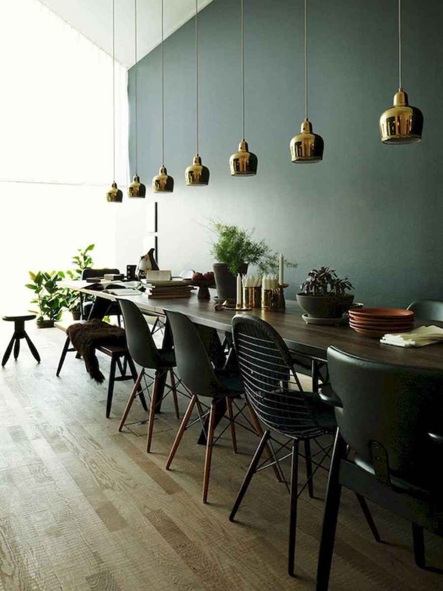 55 simple diy wooden dining table ideas that will inspire you (29)