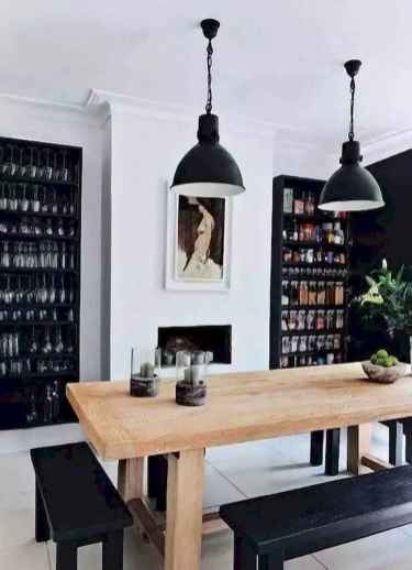 55 simple diy wooden dining table ideas that will inspire you (32)