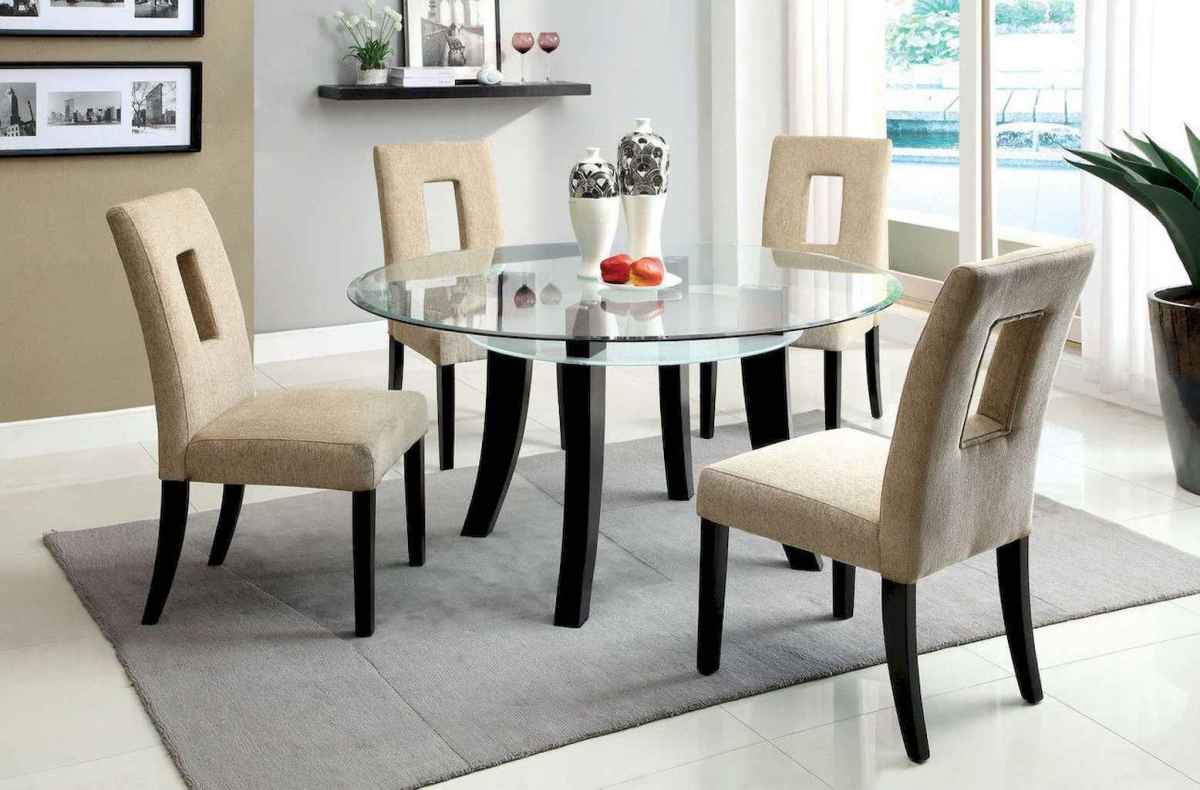 55 simple diy wooden dining table ideas that will inspire you (35)