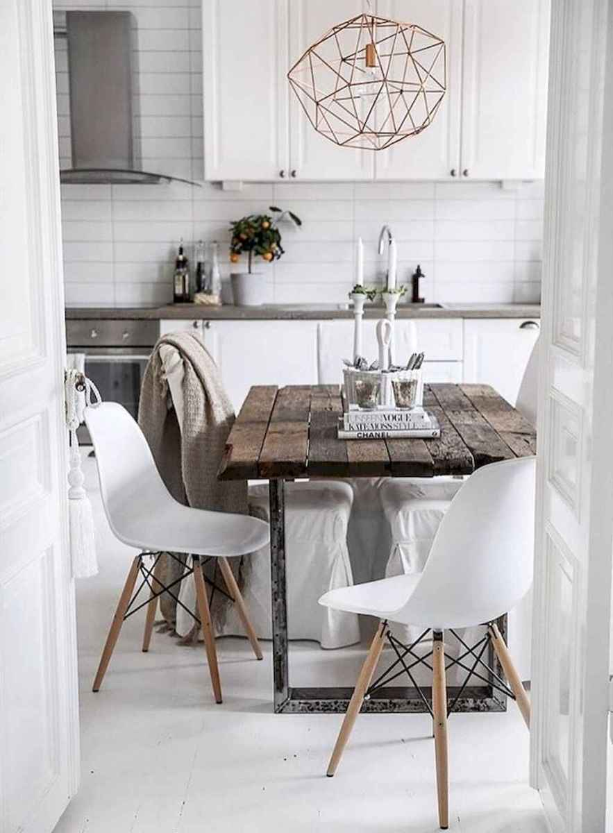 55 simple diy wooden dining table ideas that will inspire you (49)