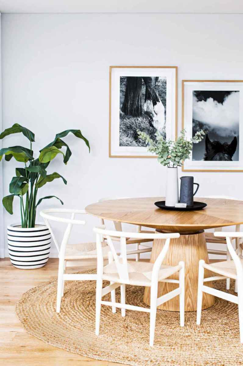 55 simple diy wooden dining table ideas that will inspire you (52)