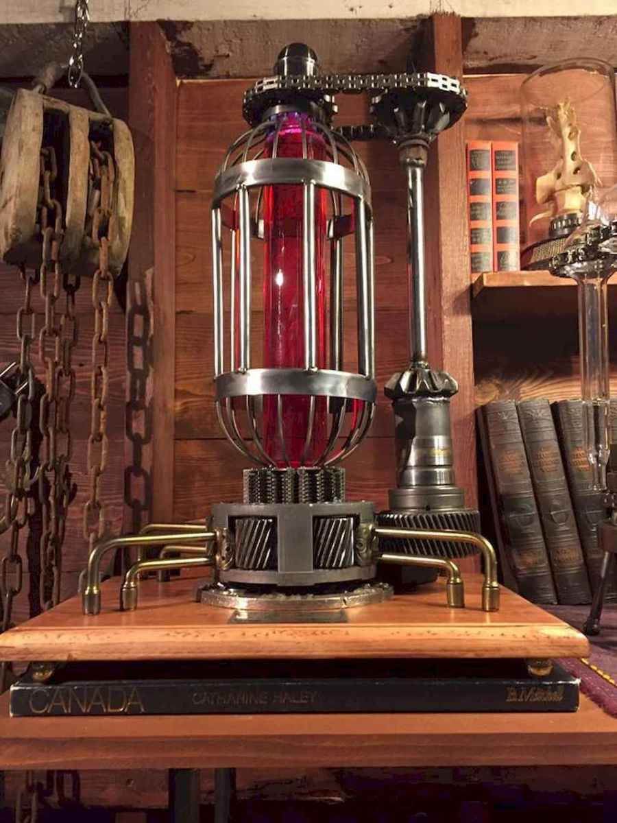 70 cheap diy industrial pipe lamps ideas to decor your home (13)