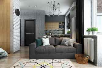 Best small apartment living room layout ideas (18)