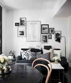Best small apartment living room layout ideas (42)