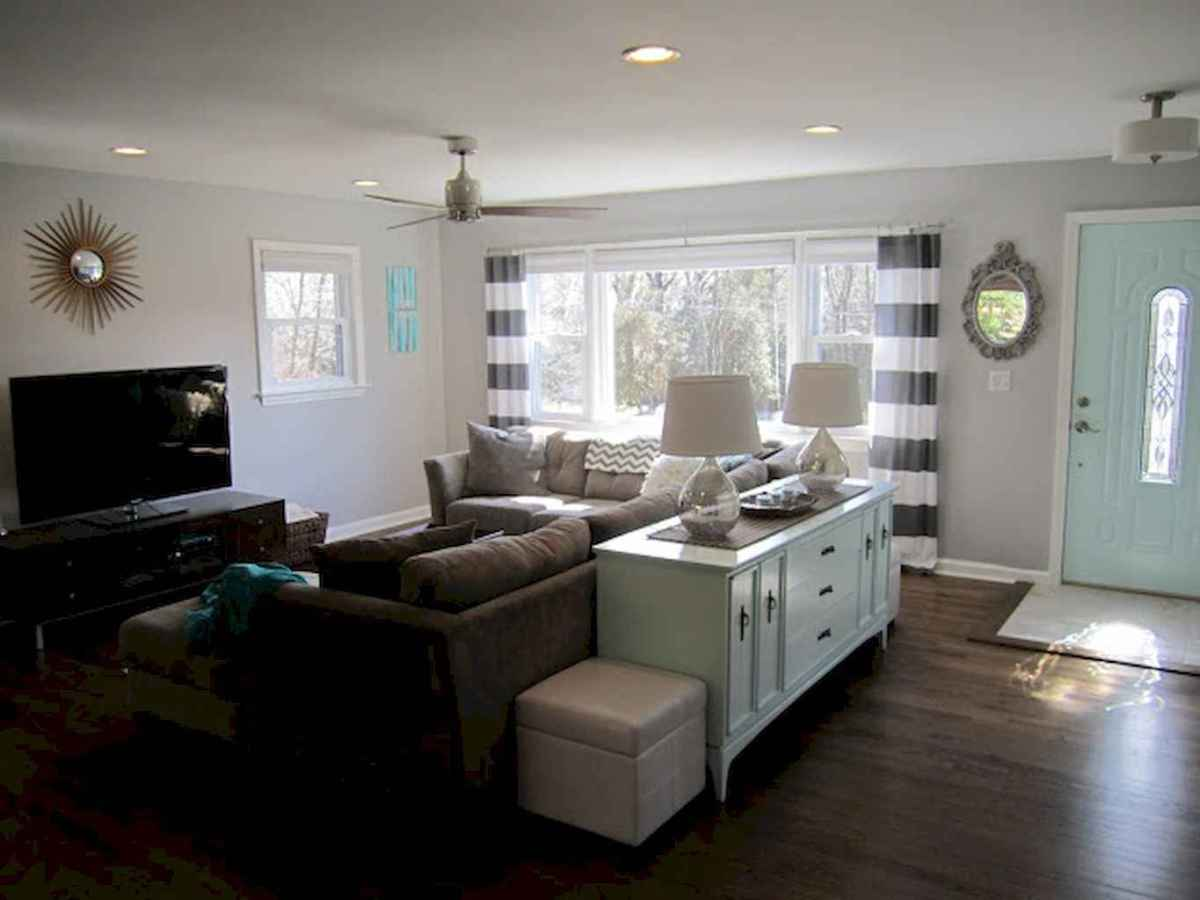 Best small apartment living room layout ideas (49)