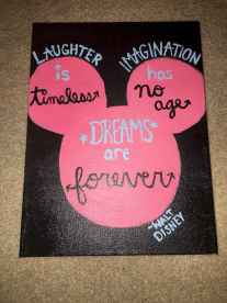 Best wall decoration canvas painting ideas with inspirational quotes (48)