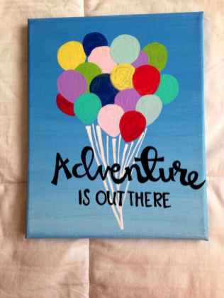 Best wall decoration canvas painting ideas with inspirational quotes (5)