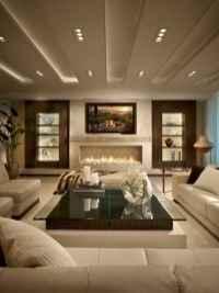 Cozy living room design & decorating ideas (23)