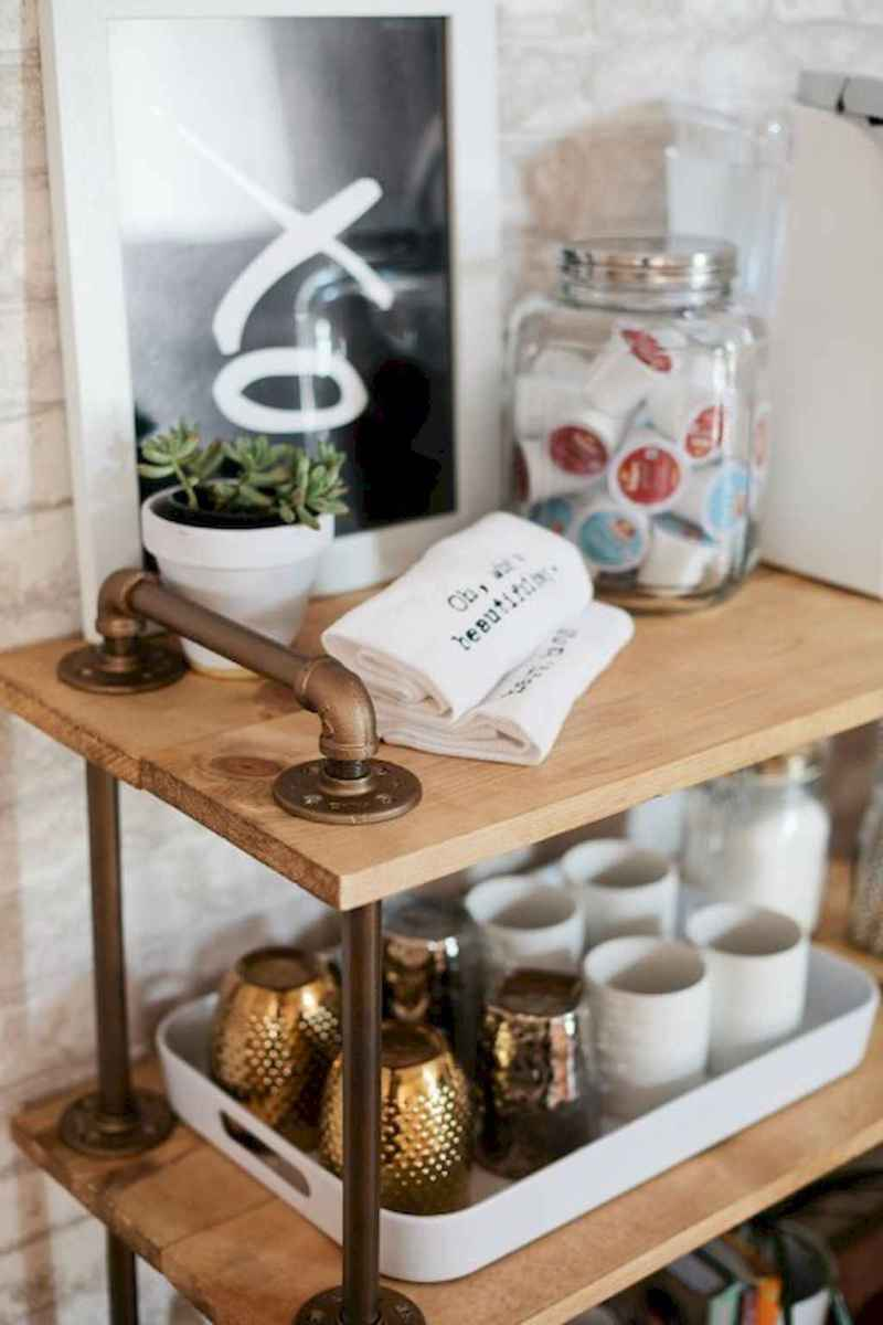 Diy home coffee bar ideas for coffee addict (15)