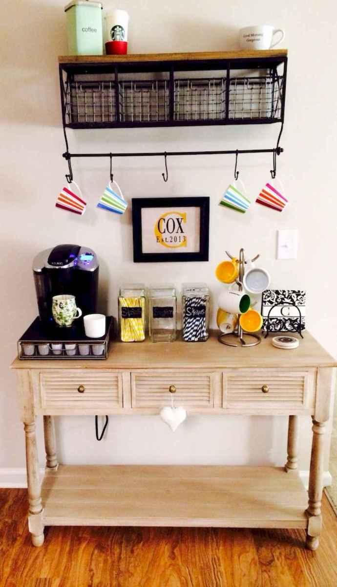 Diy home coffee bar ideas for coffee addict (16)