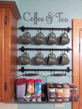 Diy home coffee bar ideas for coffee addict (17)