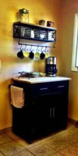 Diy home coffee bar ideas for coffee addict (18)