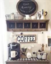 Diy home coffee bar ideas for coffee addict (22)